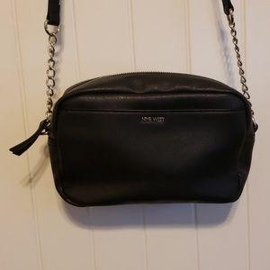 Black Nine West over the shoulder purse